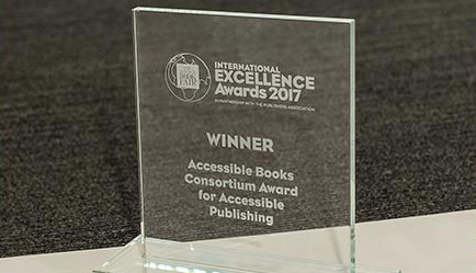 Photo of the ABC International Excellence Award